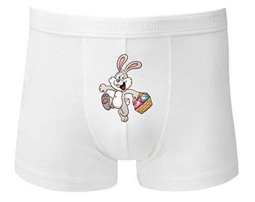 Boxershort - Kaninchen Cartoon Eierkocher Bunt - Unterhose für Herren und Männer