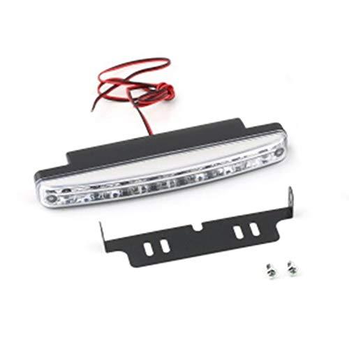 Universal 12 V 8 LED Auto Tagfahrlicht Nebelscheinwerfer Auto Fahrlicht Super helles weißes Licht Zusatzlampe