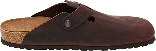 Birkenstock Unisex Boston Clog,Habana Oiled Leather,37 M EU