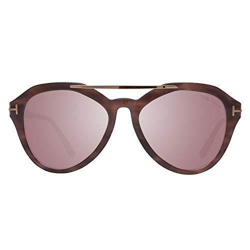 Tom Ford FT0576 5455Z Tom Ford zonnebril FT0576 55Z 54 Aviator zonnebril 54, bruin