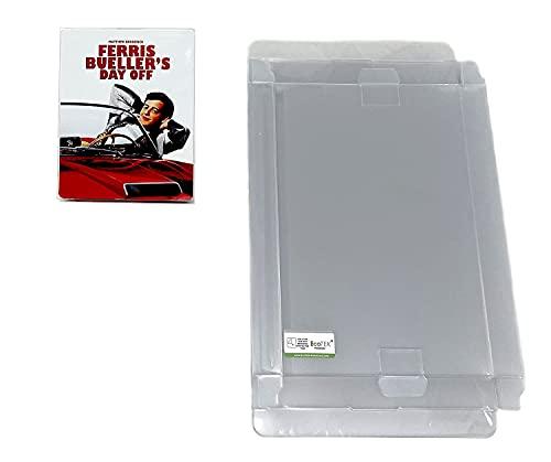 EcoTEK Protectors Funda protectora para Blu-ray Steelbook compatible con 4K Steelbook Arrow Video & Criterion