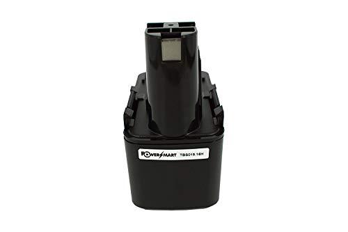 PowerSmart® 1700mAh 9,60V Akku für Bosch PSR 9.6 VE, PSR 9.6VES, PSR 9.6VES-2, GBM 9.6 VSP-2, GBM 9.6VES-1, GBM 9.6VSP-3, GDR 90, GLI 9.6V, 2 607 335 142, 2 607 335 144