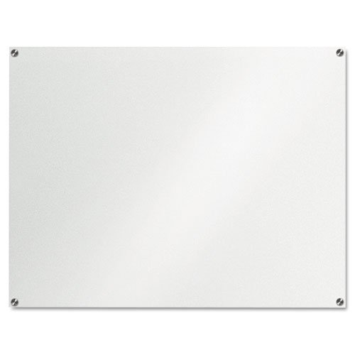 Board Dudes 46 x 36 Inches GlassX Frosted Glass Dry Erase Board Unframed (CYK53)