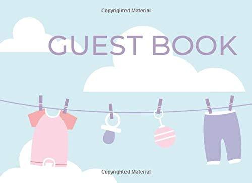 Guest Book: For Modern Gender Neutral Baby Showers BONUS Gift Log