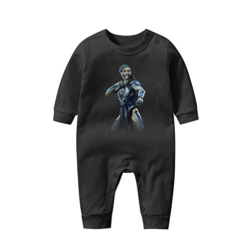 Girls Baby Onesies 100% Cotton Jumpsuit Clothes Mortal-Kombat-11-Frost-character- Stylish Long Sleeve Bodysuit