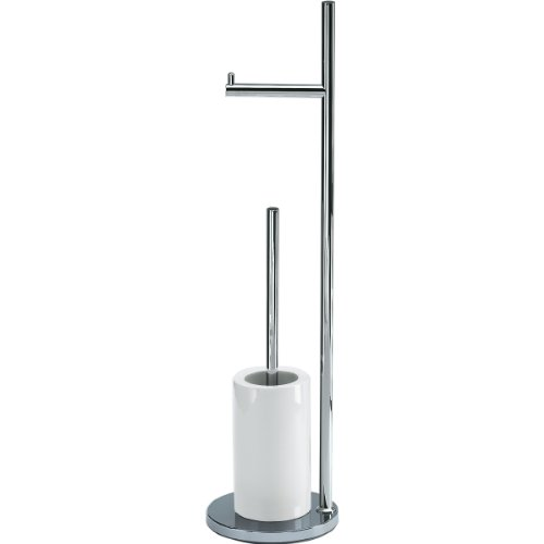 Decor Walther 0838400 DW 6700 Serviteur WC Chromé/Blanc