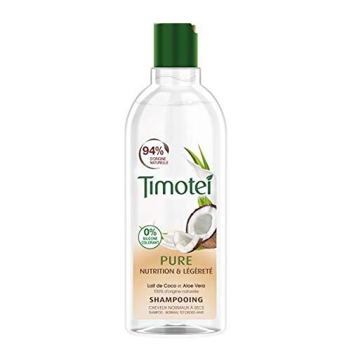 Timotei Shampoo für Damen, Pure Nutrition und leicht, Kokosmilch und Aloe Vera,...