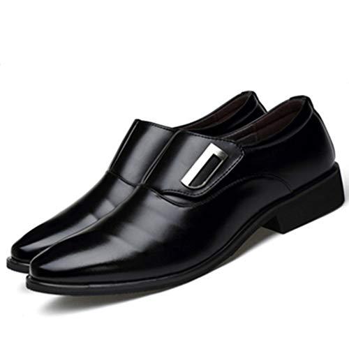 Zapatos de Vestir de Negocios para Hombres Vestido Formal de Novia Oxford...