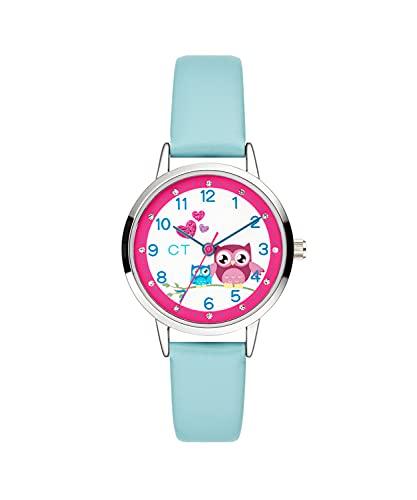 Cool Time Mädchen Kinder Armbanduhr (Blau)