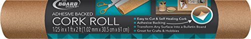Board Dudes Hobby Cork Roll with Adhesive 1' Wide x 2' Long (CYC90)