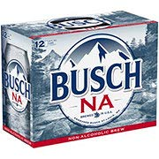 Busch NA Non Alcoholic Beer 12 oz Can -- 12 Pack