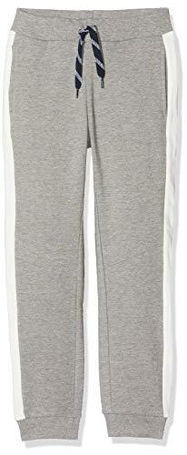 NAME IT Jungen NKMVOLTANO SWE Pant BRU NN Hose, Grau (Grey Melange Grey Melange), (Herstellergröße: 140)
