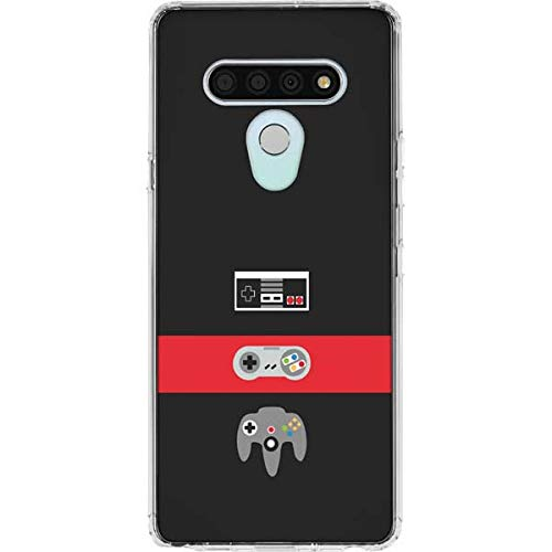 Skinit Clear Phone Case Compatible with LG Stylo 6 Originally Designed Nintendo Controller Evolution Design