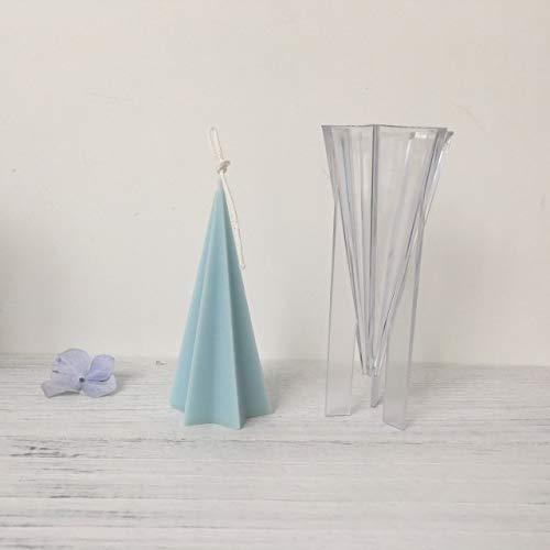 HONGTAI Kerzenformen for Kerzenherstellung Pillar/Quadrat/Zylinder/Kugel Aus Kunststoff Kerzenformen Kerzen Crafts (Color : 5)