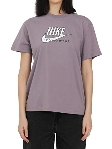 Nike Sportswear Heritage SS Top, Mujer, Rosado, SG