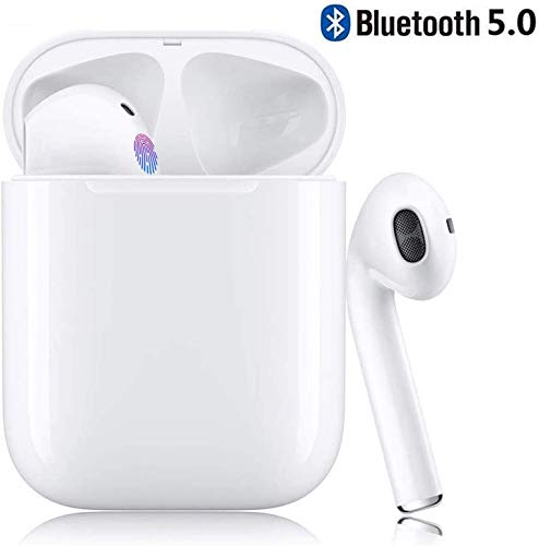 A&D Bluetooth 5.0 Wireless Earbuds with【24Hrs Charging Case】 Waterproof...