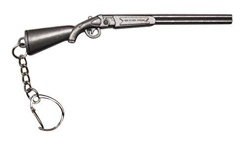 Gran Llavero Rifle Escopeta de Doble cañón.