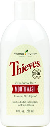 Thieves Fresh Essence Mouthwash by Young Living (8 Ounces)