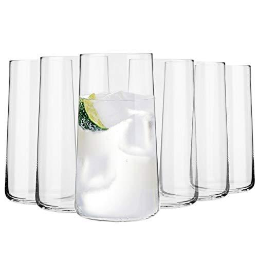 Krosno Grande Vasos de Agua Highball | Set 6 Piezas | 540 ML | Avant-G