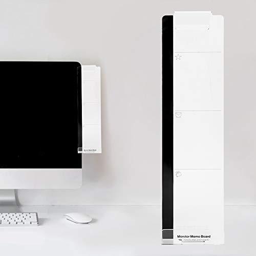 Duokon Computerscherm monitor-notitiebord, acrylberichten-notitieborden kleverige weergave voor computer PC Laptop-televisiemonitor-schermen