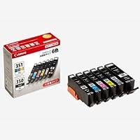 キヤノン 純正インク インクタンク BCI-351XL+350XL/6MP(大容量・6色セット)