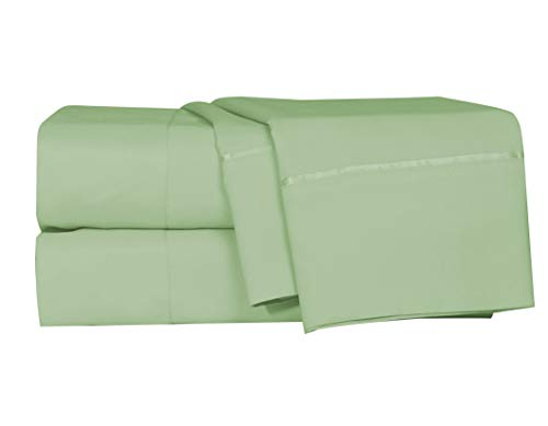 LUSH HOME Bedsheets amp Pillow Cases  6pcs  Super Soft  Fits Extra Thick Mattress Deep Pocket Wrinkle amp Fade Resistant  6 pc Set  Queen Lime