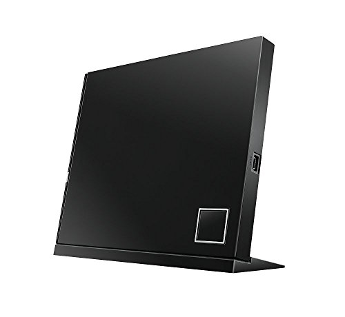 ASUS SBW-06D2X-U/BLK/G External Blu-Ray, 6X Writer with BDXL Support, Black