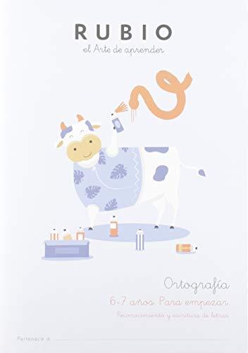 Ediciones Técnicas Rubio - Editorial Rubio Ortografía 1 (6-7 años. Para empezar) (Ortografía RUBIO)