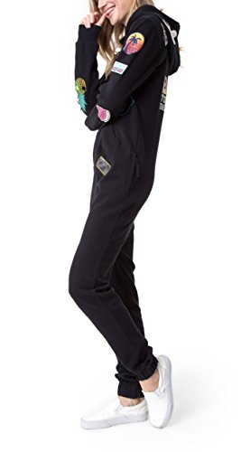 OnePiece Damen Jumpsuit Malibu Patch, Schwarz - 3