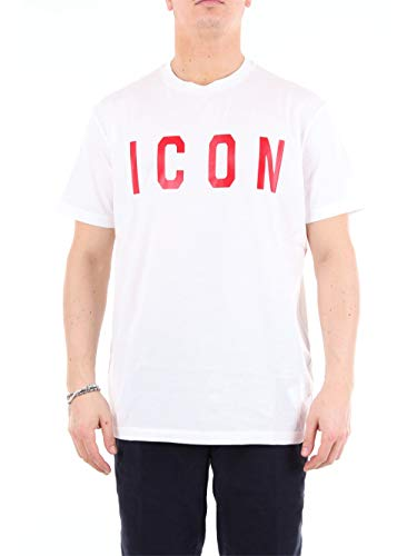 Dsquared T-Shirt (M-54-Ts-59324) - S(DE) / S(IT) / S(EU) - Weiss