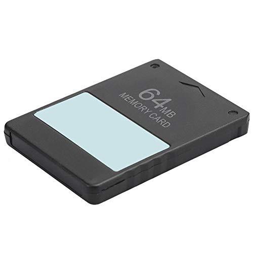 Annjom Professionelle Hochgeschwindigkeitsspeicherkarte für PS2, Datenretter für Speicherkarten mit Stabiler Leistung für PS2, MCboot-Speicherkarte(64M FMCB)
