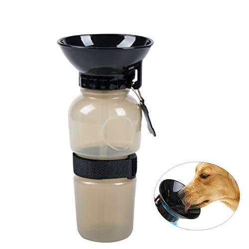 Huisdier Water Flessen Hond Water Flessen Reizen Hond Drinkwater Fles Honden Water Fles Dispenser Lekvrije Hond Bidon Pet Fles Water Reizen brown
