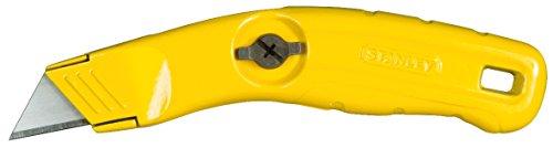 Preisvergleich Produktbild Stanley Messer feststehende Klinge (schmale Nase,  Ersatzklingenfach,  schneller Klingenwechsel,  ergonomisch) 0-10-705