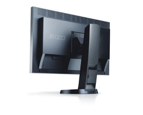 Eizo EV2335W-GB 58,4 cm (23 Zoll) LED Monitor (DVI, DisplayPort, VGA, 6ms Reaktionszeit) grau/schwarz