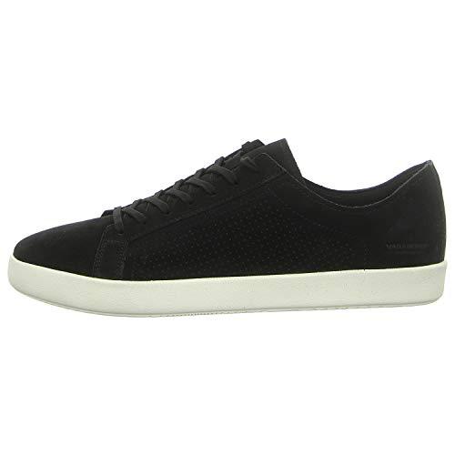 Vagabond Men's Vince Sneaker, Black Off Black, 8 UK
