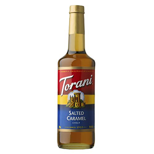 Torani Salted Caramel Syrup, 25.4 oz.