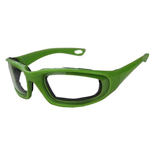 Snow Island Zwiebelbrille, reißfest, zum Schneiden von Augen, grün