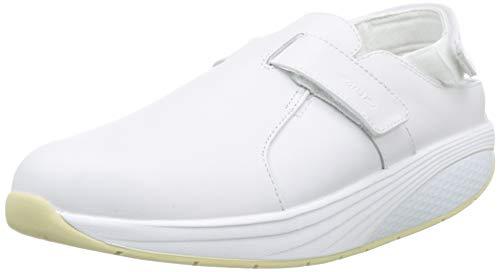 MBT FLUA WHITE/37, Zuecos de Trabajo Unisex Adulto, Blanco (White 16), 37 EU
