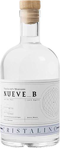 Tequila Nueve B Cristalino - Premium Tequila aus 100% blauer Weber Agave - 38% vol. 0,7l Flasche