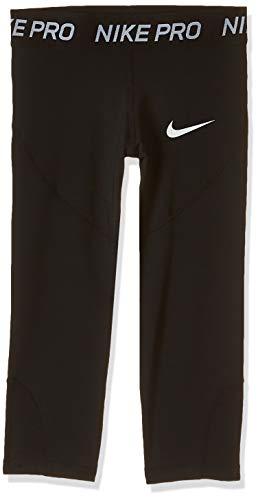 Nike Mädchen G NP CPRI Sport Trousers, Black/Black/Black/(White), XS