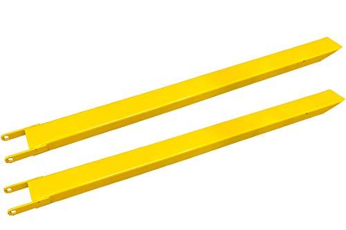1 Paar 220cm Gabelverlängerung für Stapler Frontlader Zinkenverlängerung Gelb