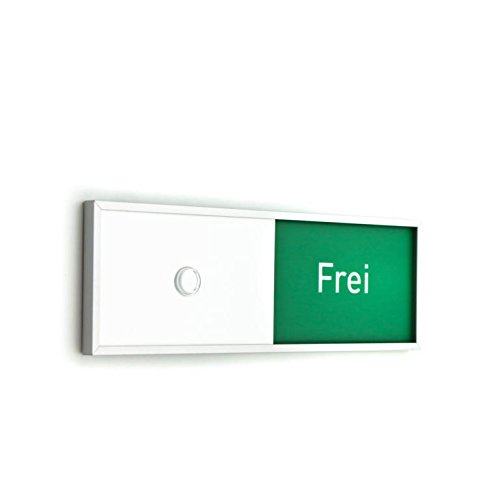 Frei/Belegt-Anzeige, Rot/Grün- Anzeige Tenuis 150/50 mm