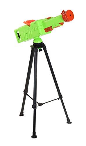 Spetebo XXL Wasserkanone mit Standfuß und Gartenschlauch Anschluss - 74 cm - Wasserpistole Wassergewehr