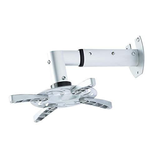 TradeMount Beamer/projector muurbeugel uittrekbaar van 25,5 cm tot 33 cm 30° kantelbaar 180° draaibaar, compatibel met Acer X1123H