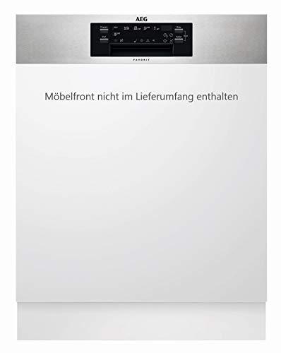 AEG FEE62600PM Totalmente integrado 13cubiertos A++ lavavajilla - Lavavajillas (Totalmente integrado, White,Not applicable,...