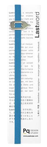 Lastword segnalibro particolare - segnalibro elastico adatto a tutti i libri, books office- segnalibro per uomo donna e bambino ottimo come regalo - Non perdere il segno - Made in Italy (Blu)