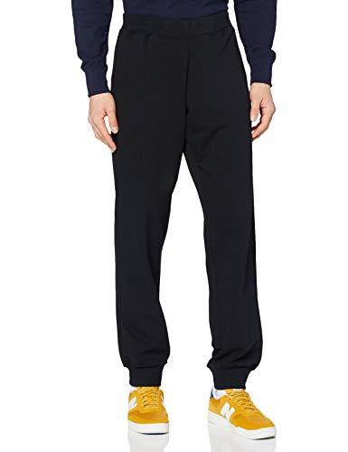 erima Herren Sweathose Pants mit Bündchen, schwarz, L, 210330