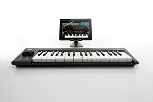 KORG定番ワイヤレスMIDIキーボードmicroKEYAir-37音楽制作DTM省スペースで自宅制作に最適すぐに始められるソフトウェアライセンス込み37鍵