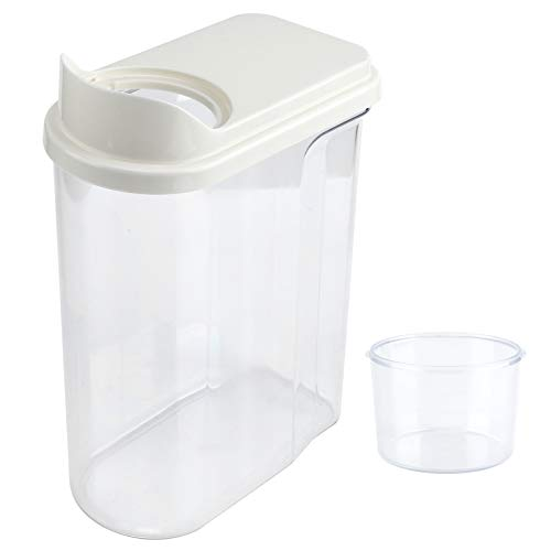 PS + ABS + contenedor de almacenamiento de alimentos de silicona dispensador de cereales caja de almacenamiento de cereales contenedor de almacenamiento de cereales...
