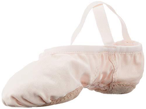 Wear Moi Vesta Stretch Canvas Ballet Slippers  Light Pink  39M (WMVESSAL39)